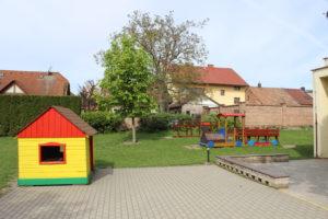 MŠ Čtyřlístek - fotografie zahrady