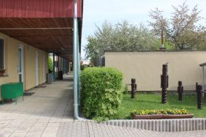 MŠ Čtyřlístek - vchod